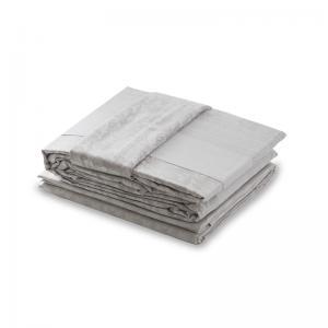 法国 Blanc des Vosges 贡缎提花慕拉诺系列枕套 珍珠白【国内仓】