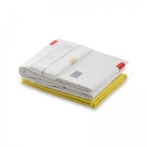 法国 Blanc des Vosges 高级密织100%纯棉网格系列被套 玫红【国内仓】