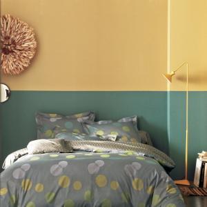 法国 Blanc des Vosges 贡缎提花气泡系列被套 黄色【国内仓】