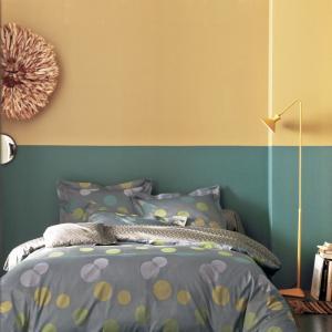 法国 Blanc des Vosges 贡缎提花气泡系列枕套 黄色【国内仓】