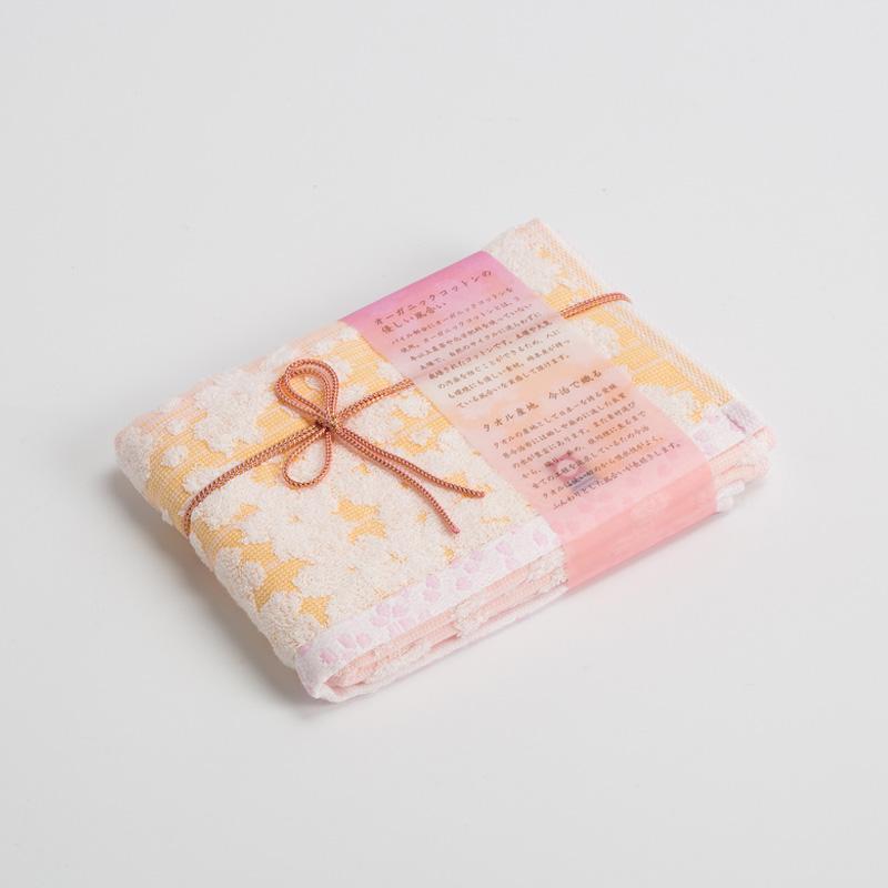 日本 Prairie Dog 樱花系列今治毛巾 有机棉毛巾34*80cm 樱花【国内仓】