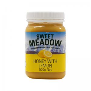 新西兰 Comvita Sweet Meadow 柠檬蜂蜜 500g