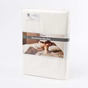 德国 Formesse 午睡毯 单人双人盖毯 棉毯子 150*220cm 白色【国内仓】