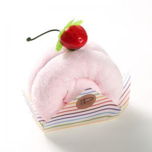 日本 Prairie Dog 纯棉毛巾 卷心蛋糕毛巾手帕25×25cm 粉色【国内仓】