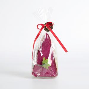 日本 Prairie Dog 纯棉毛巾 三角蛋糕毛巾手帕25×25cm 紫色【国内仓】