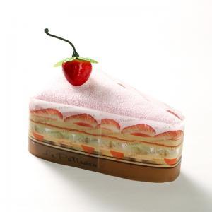 日本 Prairie Dog 纯棉毛巾 三角蛋糕毛巾手帕25×25cm 粉色【国内仓】