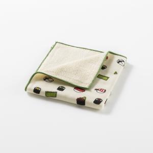 日本 Prairie Dog +Ima和布華今治毛巾手帕24*24cm 彩色寿司图案【国内仓】