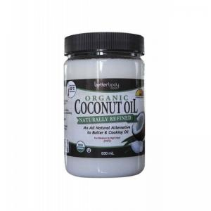 英国 Betterbody Naturally Refined Coconut Oil 椰子油 830ml