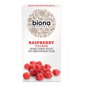 英国 Biona Raspberry Filled Cookies 饼干 175g