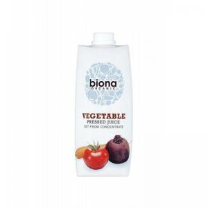 英国 Biona Vegetable Juice Pressed 榨汁蔬菜果汁 500ml 6件装
