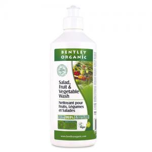 英国 Bentley Organic Salad Fruit & Veg Wash 清洗剂 500m...