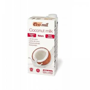 英国 Ecomil Coconut Milk No Added Sugar 椰奶饮料 1Ltrx6
