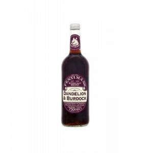 英国 Fentimans Dandelion & Burdock 发酵植物饮料 750ml 6件装