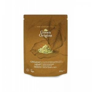 英国 Green Origins Organic Shelled Raw Hemp Seeds 大麻...