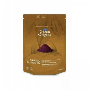 英国 Green Origins Organic Freeze Dried Blueberry Po...