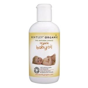 英国 Bentley Organic Baby Oil 婴儿油 250ml*2瓶