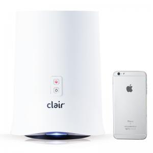 韩国 Clair 家用除甲醛空气净化器除尘除异味净化器 白色